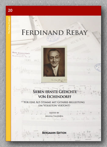 Rebay [020], Sieben ernste Gedichte von Eichendorff - preview of the cover