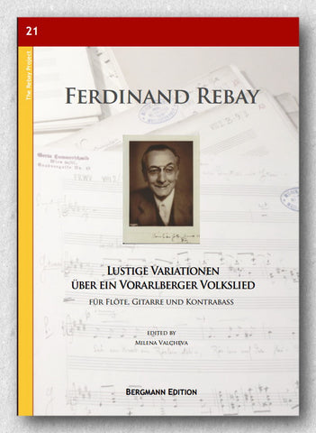 Rebay [021], Lustige Variationen, preview of the cover.