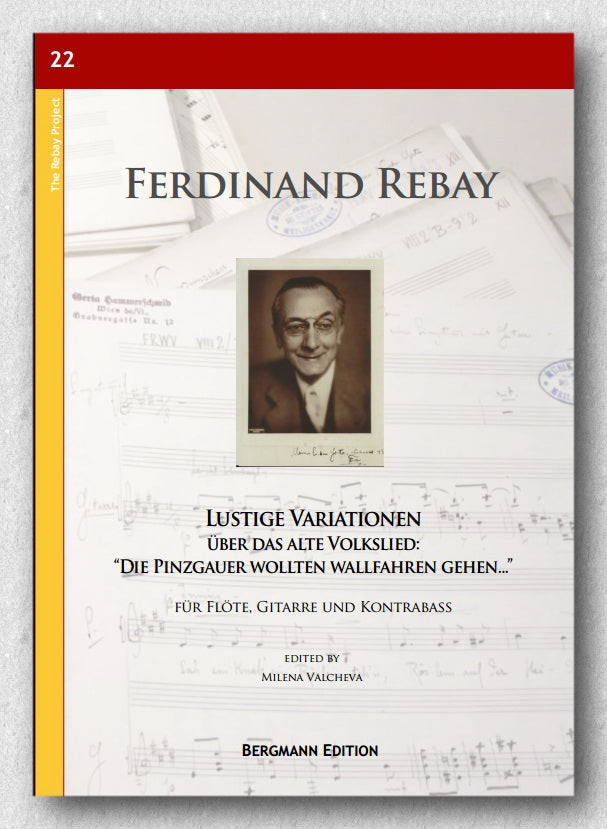 Rebay [022], Lustige Variationen 2, preview of the cover.