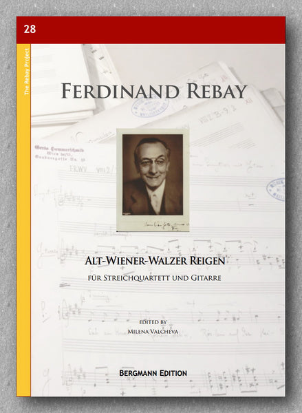 Rebay [028], Alt-Wiener-Walzer Reigen - Preview of the cover