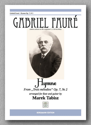 Faure-Tabisz, Hymne - op 7 No 2 - preview of the cover