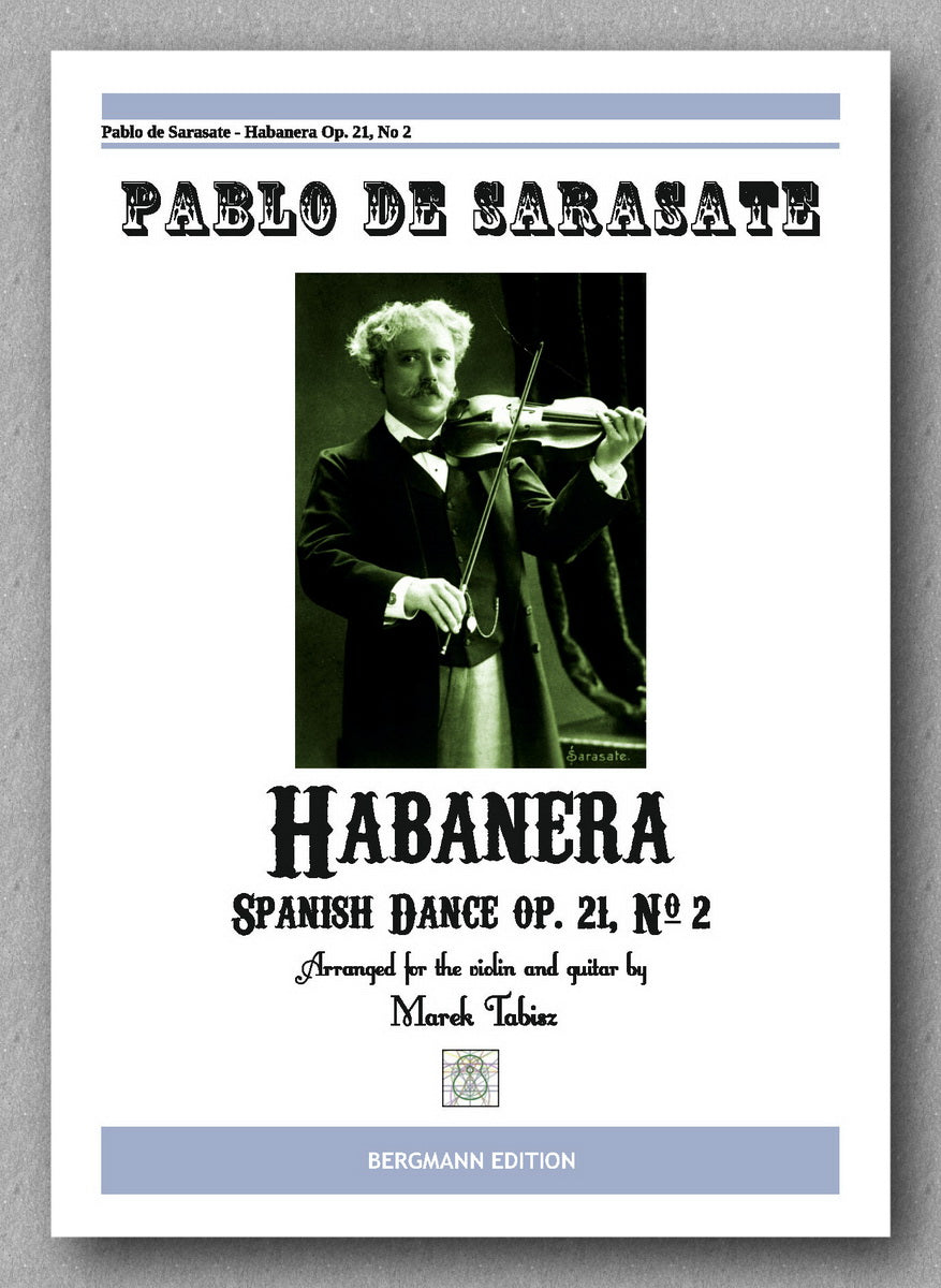 Habanera Op.21 No. 2 by Pablo de Sarasate. Preview of the cover.