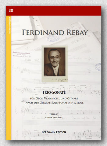 Rebay [030], Trio-Sonate für Oboe, Violoncell und Gitarre - Preview of the cover