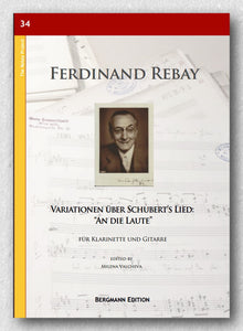 "Rebay [034] Variationen über Schubert's Lied: ""An die Laute"" - preview of the cover"