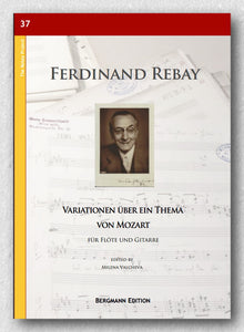 Rebay [037], Variationen über ein Thema von Mozart - preview of the cover