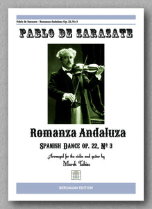 PABLO DE SARASATE, Romanza Andaluza - preview of the cover