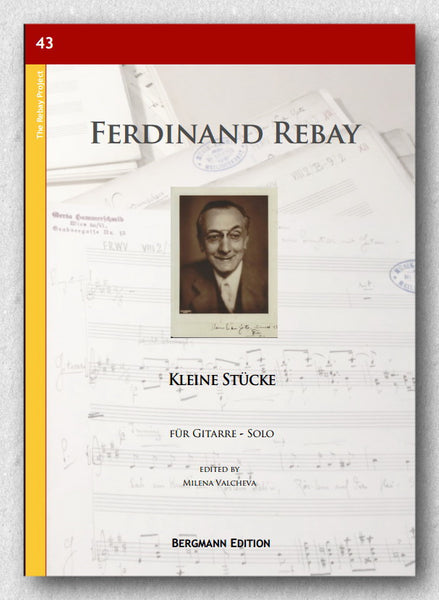 Rebay [043], Kleine Stücke - preview of the cover