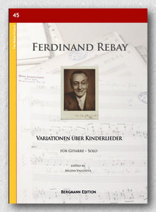 Rebay [045], Variationen über Kinderlieder - preview of the cover