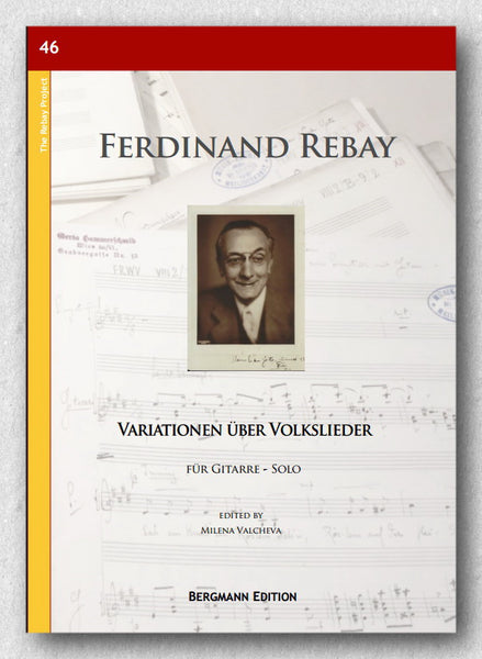 Rebay [046], Variationen über Volkslieder - preview of the cover.