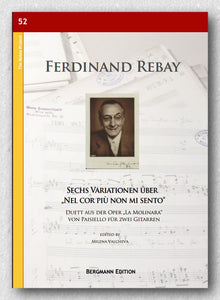 Rebay [052], Sechs Variationen - preview of the cover