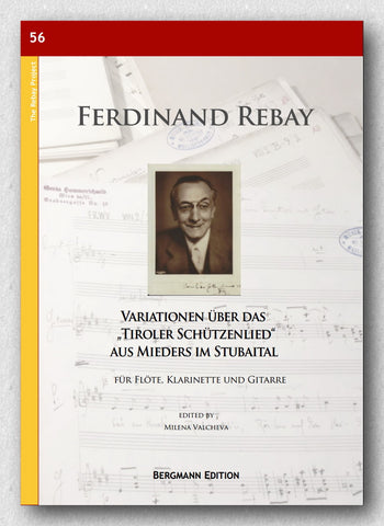 "Rebay [056], Variationen über das ""Tiroler Schützenlied"" - preview of the cover."