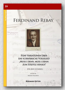 Rebay [059], Fünf Variationen über Muss i denn - preview of the cover