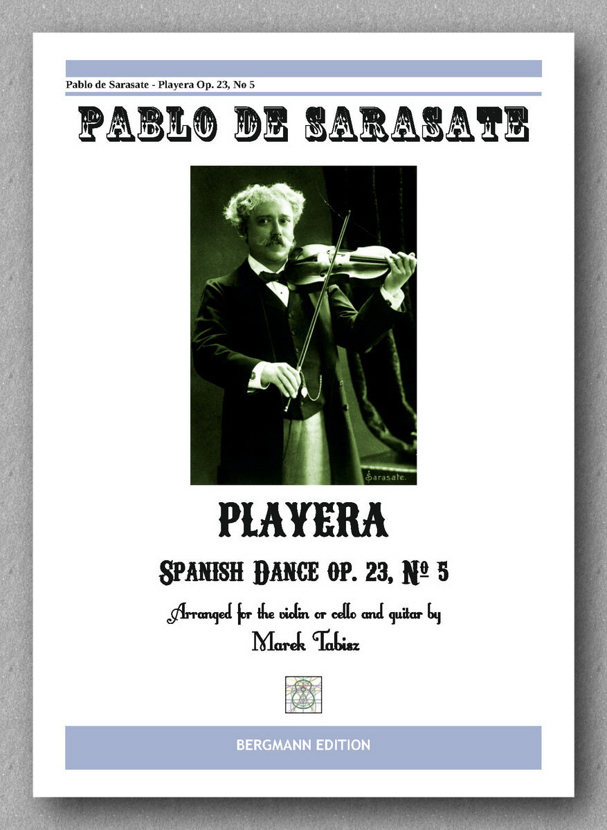 PABLO DE SARASATE, Playera - preview of the cover