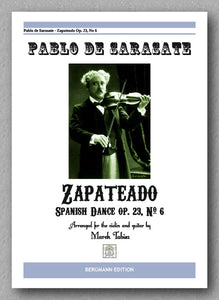 PABLO DE SARASATE, Zapateado - preview of the cover