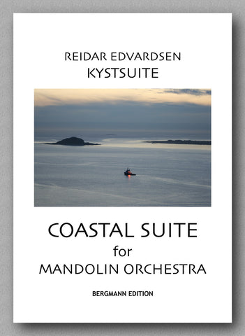 Reidar Edvardsen, Kystsuite (Coastal Suite) for mandolin orchestra - preview of the cover