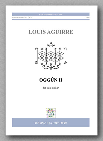 Louis Aguirre, OGGÚN II - preview of the cover