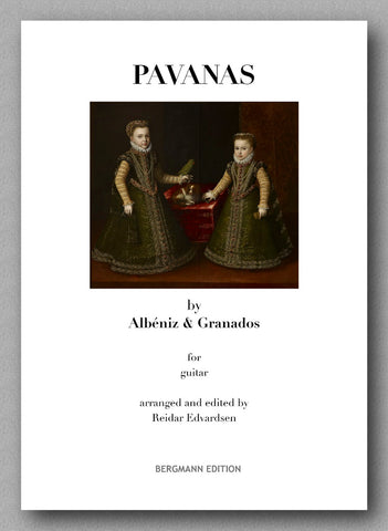 Albeniz-Granados-Edvardsen, Two Pavannes - preview of the cover