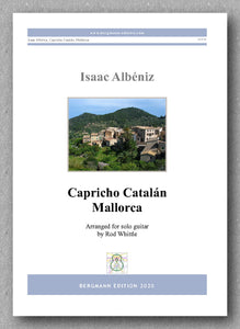 Isaac Albéniz, Capricho Catalán, Mallorca - preview of the cover