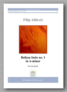 Alilovic, Balkan Suite no. 1 - cover
