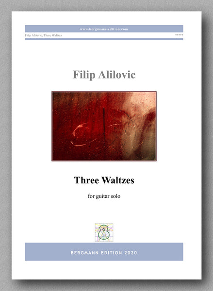 Filip Alilovic, Three Waltzes - preview of the cover