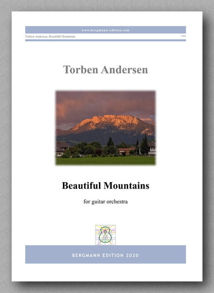Torben Andersen, Beautiful Mountains - preview of the cover