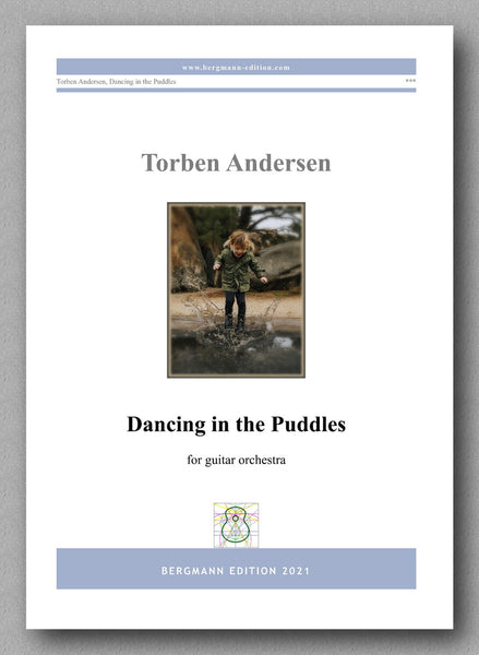 Torben Andersen, Dancing in the Puddles - cover