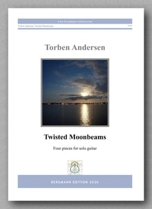 Torben Andersen, Twisted Moonbeams  - preview of the cover