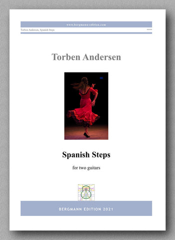 Torben Andersen, Spanish Steps - cover