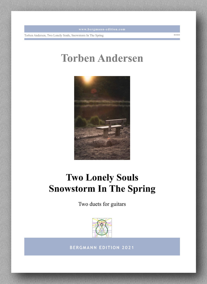Torben Andersen, Two Guitar Duets - cover