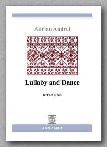 Adrian Andrei, Lullaby and Dance - preview of the cover