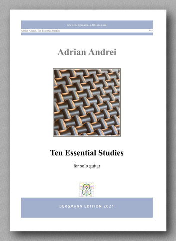 Adrian Andrei, Ten Essential Studies - cover
