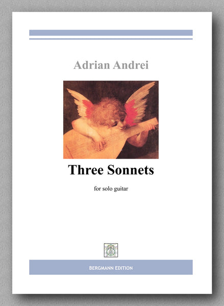 Andrei, Three Sonnets - preview of the cover.