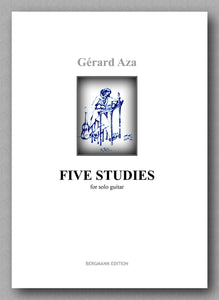 Aza-Five Studies-preview of the cover