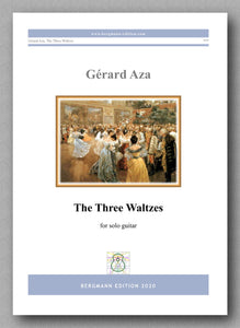 Gérard Aza, The Three Waltzes - preview of the cover