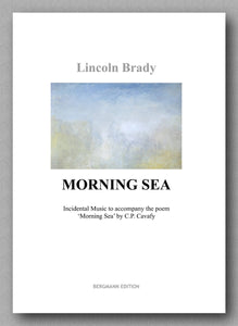 Lincoln Brady:  Morning Sea, for solo guitar - preview of the cover.