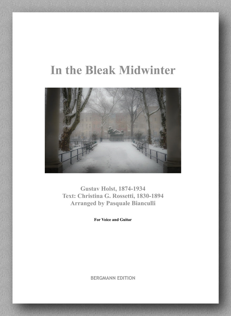 Pasquale-Holst, In the Bleak Midwinter - preview of the cover.