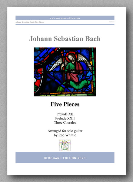 Bach-Whittle, Five pieces - preview of the cover