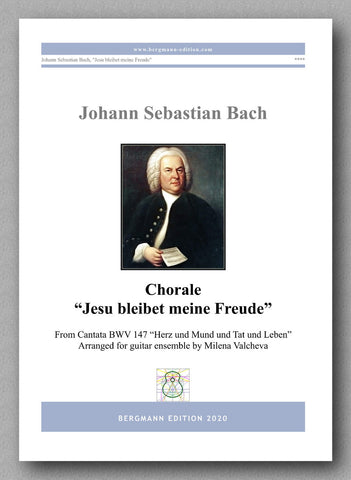 J.S. Bach, Chorale - preview of the cover