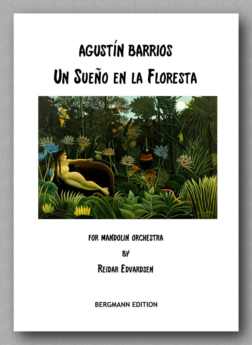 Edvardsen-Barrios, Un Sueno en la Floresta -preview of the cover