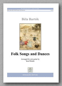 Bartok - Whittle, Folk Songs and Dances - preview of the cover