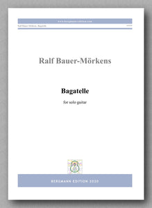 Bagatelle by Ralf Bauer-Mörkens preview of the cover