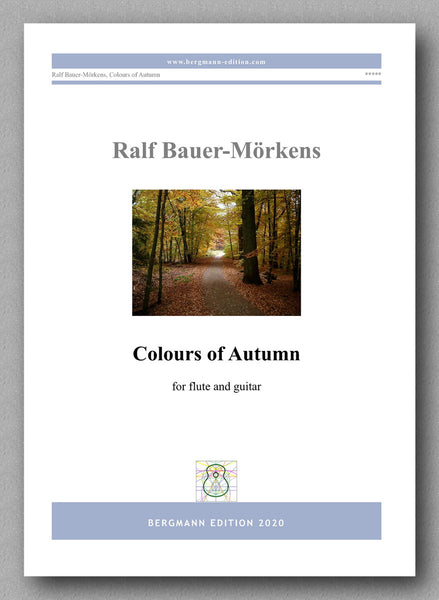 Colours of Autumn by Ralf Bauer-Mörkens - preview of the cover