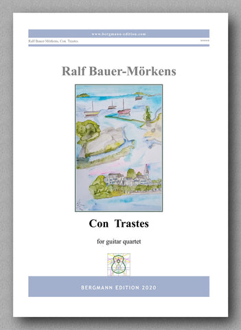 """Con Trastes"" by Ralf Bauer-Mörkens - preview of the cover"