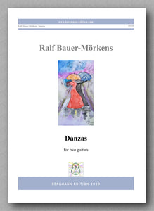 Danzas by Ralf Bauer-Mörkens - preview of the cover