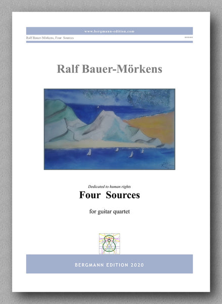 """Four Sources"" by Ralf Bauer-Mörkens - preview of the cover"