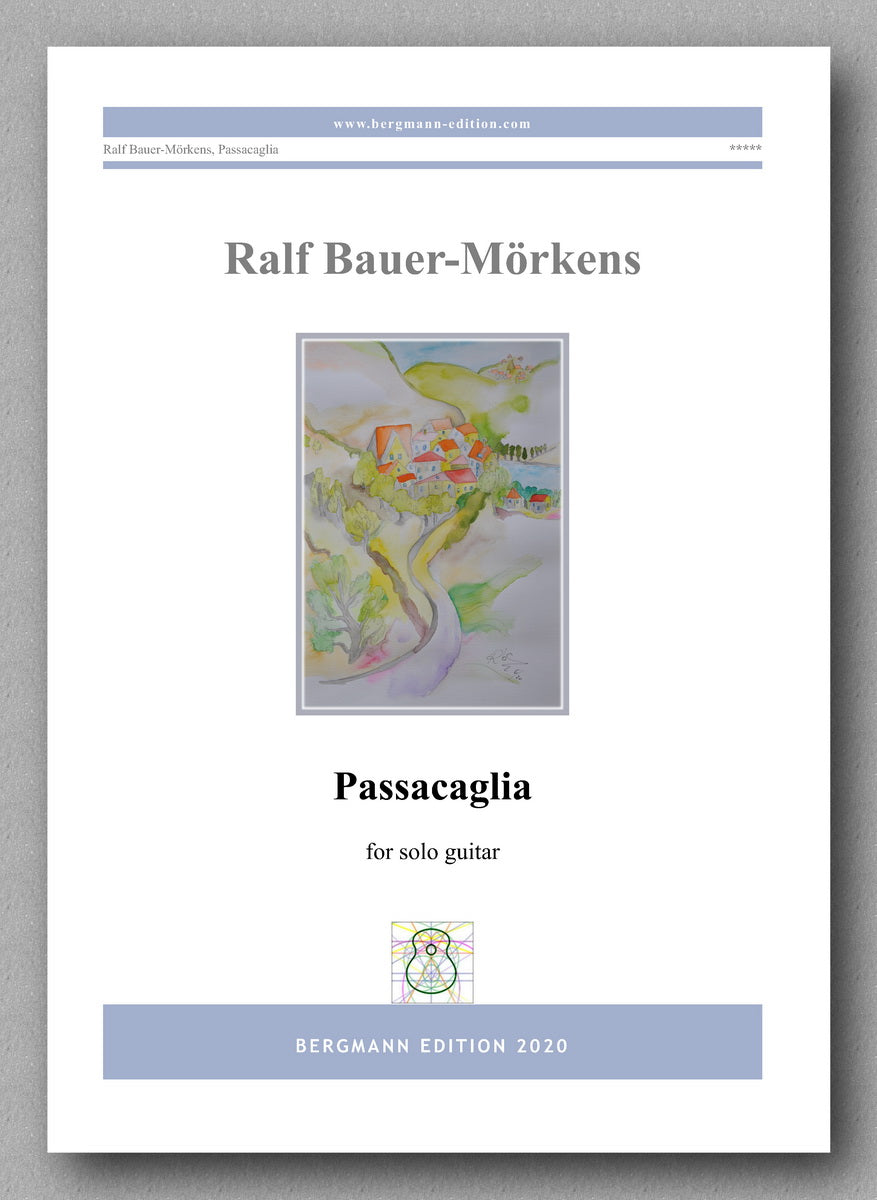 Passacaglia by Ralf Bauer-Mörkens - preview of the cover