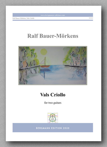 """Vals Criollo"" by Ralf Bauer-Mörkens - preview of the cover"