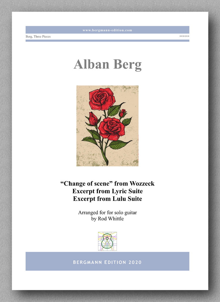 Alban Berg, Three Pieces - preview of the cover