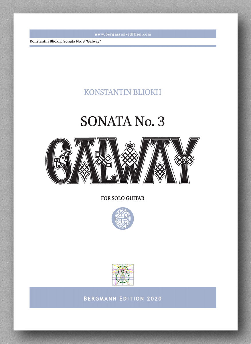Konstantin Bliokh, Sonata No. 3, GALWAY - preview of the cover