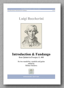 Boccherini-Valcheva, Introduction & Fandango - preview of the cover